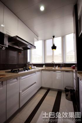 u型整体厨房装修效果图欣赏
