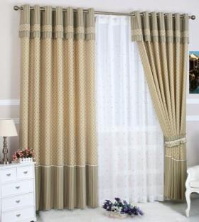 最新臥室窗簾裝飾效果圖