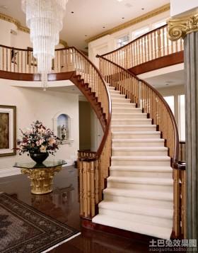别墅楼梯扶手设计图
