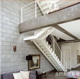 室外楼梯设计效果图图片