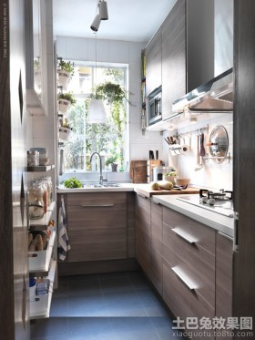 小厨房整体装修效果图欣赏