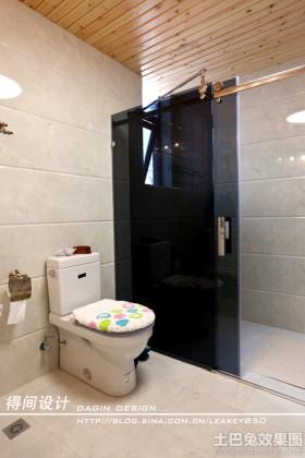 欧式卫生间墙面瓷砖装修效果图