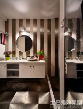 现代风格洗手间装修效果图大全