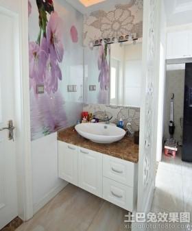 洗手间屏风隔断效果图片