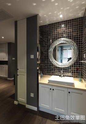 现代装修风格洗手间效果图大全