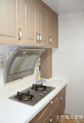 簡歐式廚房灶臺裝修效果圖