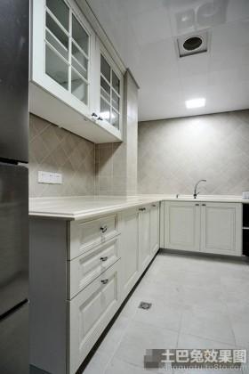 小厨房欧式橱柜效果图大全