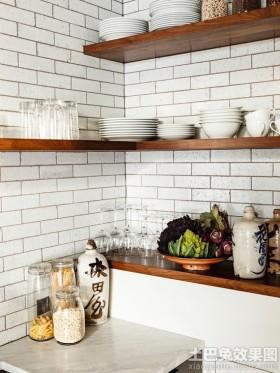 日式厨房瓷砖图片