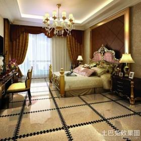 欧式卧室地板砖效果图图片