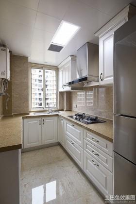 美式厨房设计效果图大全欣赏