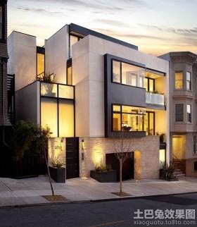 现代三层小别墅设计图