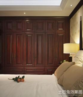 美式风格卧室衣柜设计效果图图片